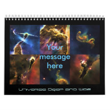 Images from our Universe, Outer Space Beauty Calendar