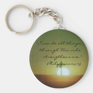 "images, ""I can do all things through Him who st... Key Chains"