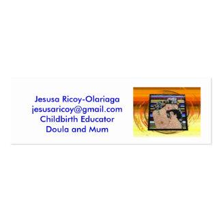 images, Jesusa Ricoy-Olariagajesus... - Customized Mini Business Card