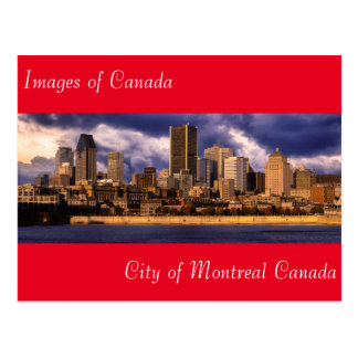 Images of Canada for postcard