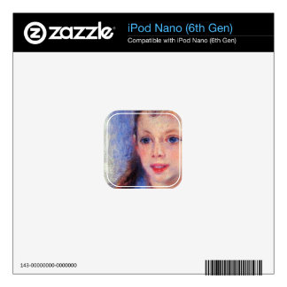 Images of children's character heads by Renoir iPod Nano 6G Decal