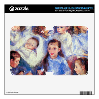 Images of children's character heads by Renoir WD My Passport Skin