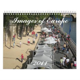 Images of Europe 2011 Calendar