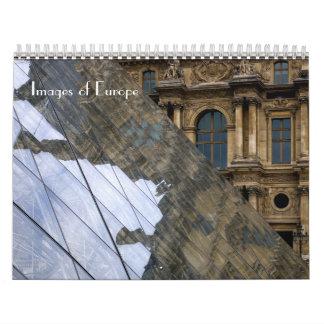 Images of Europe Calendar
