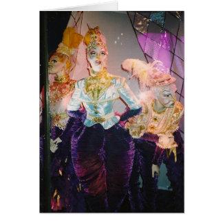 Images of Femininity - At Tiffany's Card