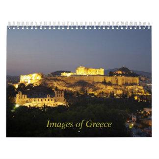 Images of Greece Calendar