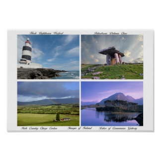 Images of Ireland designed for poster