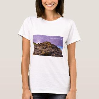 Images of Ireland for Women's-T-Shirt-White T-Shirt