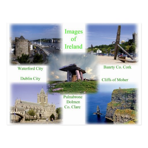 Images of Ireland Postcard