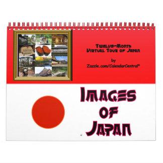 Images of Japan #1 Calendar