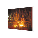 Images of Lamas at the Sara Monastery, Lhasa, Gallery Wrapped Canvas