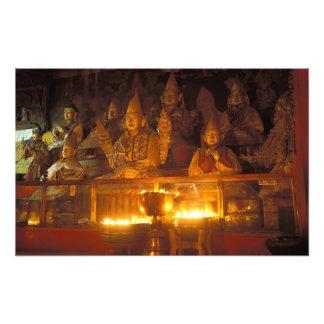 Images of Lamas at the Sara Monastery, Lhasa, Photo Print