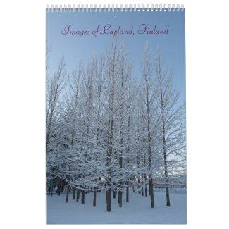 Images of Lapland Calendar 2011 calendar