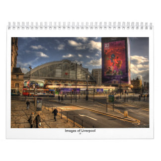 Images of Liverpool Wall Calendar