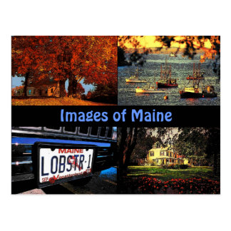 Images of Maine Postcard
