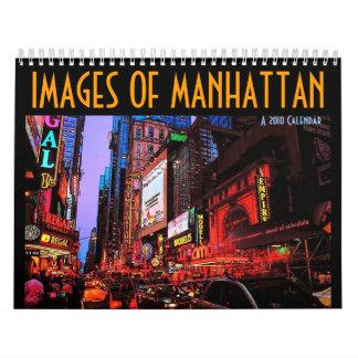 Images of Manhattan 2010 Calendar