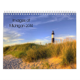 Images of Michigan 2014 Calendar