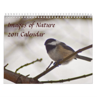 Images of Nature 2011 Calendar