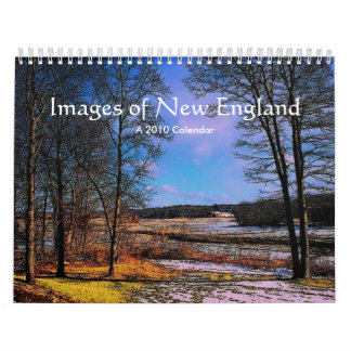 Images of New England 2010 Calendar