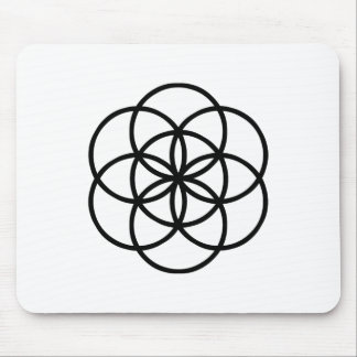 Images of number 7: the Seed of Life Mouse Pad