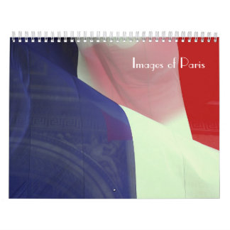 Images of Paris Calendar