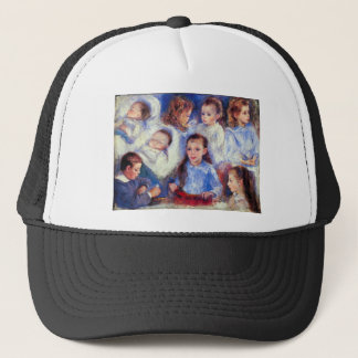 Images of s character heads by Renoir Trucker Hat
