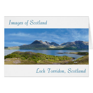 Images of Scotland for greeting-card Card