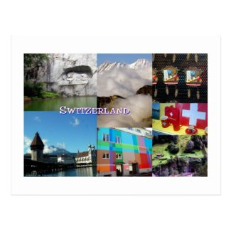 Images of Switzerland Postcard