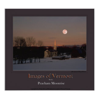 Images of Vermont poster