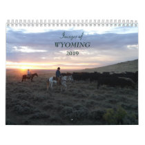 Images of Wyoming 2019 Calendar