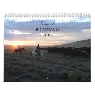 Images of Wyoming 2019 Calendar