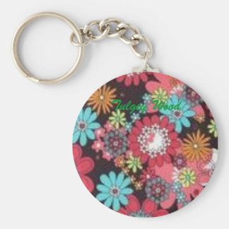 images, Tulgey Wood Basic Round Button Keychain
