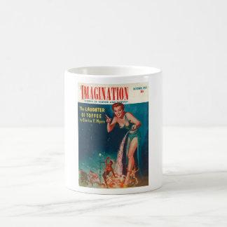 Imaginación - arte 1954-10_Pulp Taza Clásica