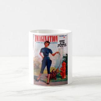 Imaginación - arte 1954-12_Pulp Taza Clásica