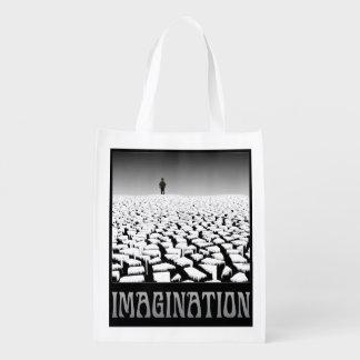 Imaginación Bolsa Reutilizable