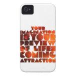 Imaginación Case-Mate iPhone 4 Funda