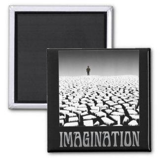 Imaginación Imán De Frigorífico
