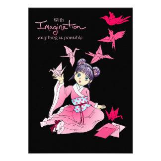 Imaginación Invitacion Personalizada