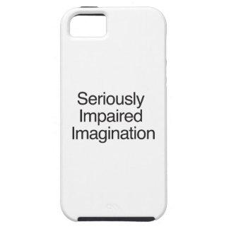 Imaginación seriamente empeorada funda para iPhone 5 tough