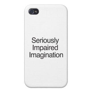 Imaginación seriamente empeorada iPhone 4/4S funda