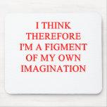 imaginación tapete de raton