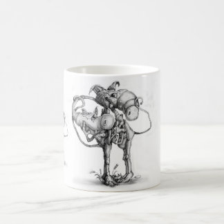 Imaginaries: All Tied Up Classic White Coffee Mug
