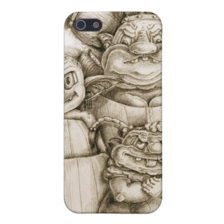Imaginaries Family Portrait Cover For iPhone SE/5/5s