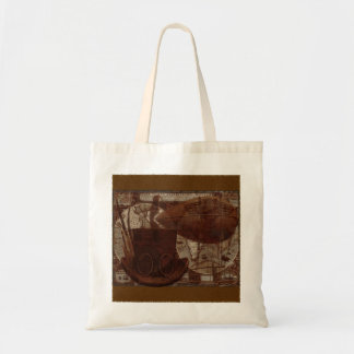 Imaginarium Steampunk Mixed Media Tote Bag