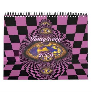 Imaginary 2009 wall calendar