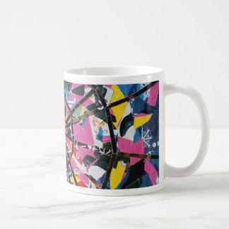 Imaginary collage classic white coffee mug