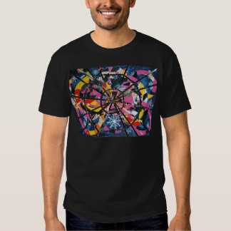Imaginary collage t shirt