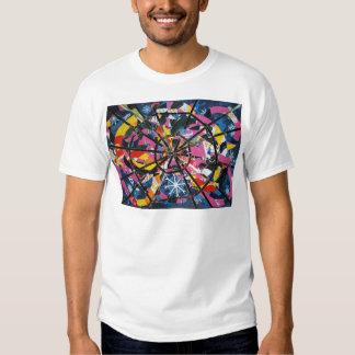 Imaginary collage tee shirt