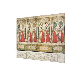 Imaginary Composite Procession Canvas Print