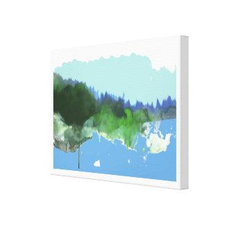 imaginary digital_art landscape canvas print